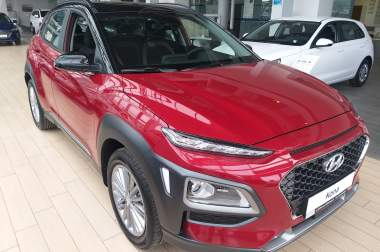 Hyundai Kona 1.6-T Elegance Safety 2-t red