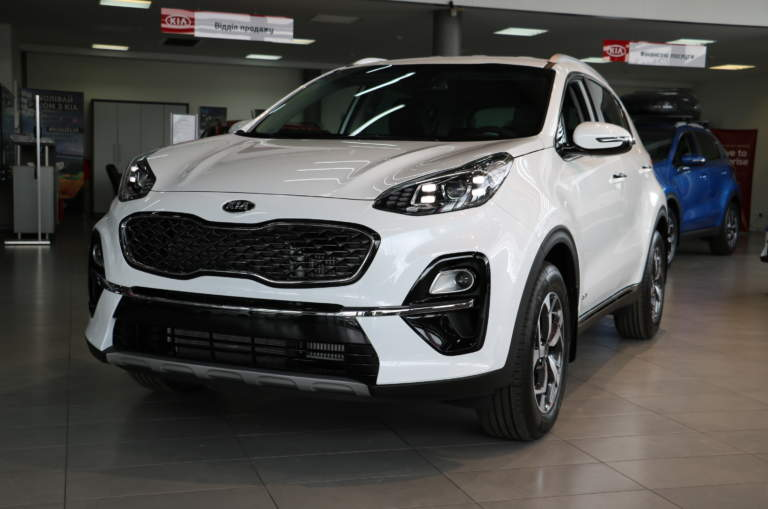 Sportage FL 2.0D (дизель) A/T Business 4WD 2020