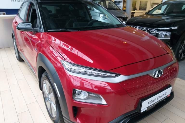 Hyundai Kona EV Top 64 kW 2-tone