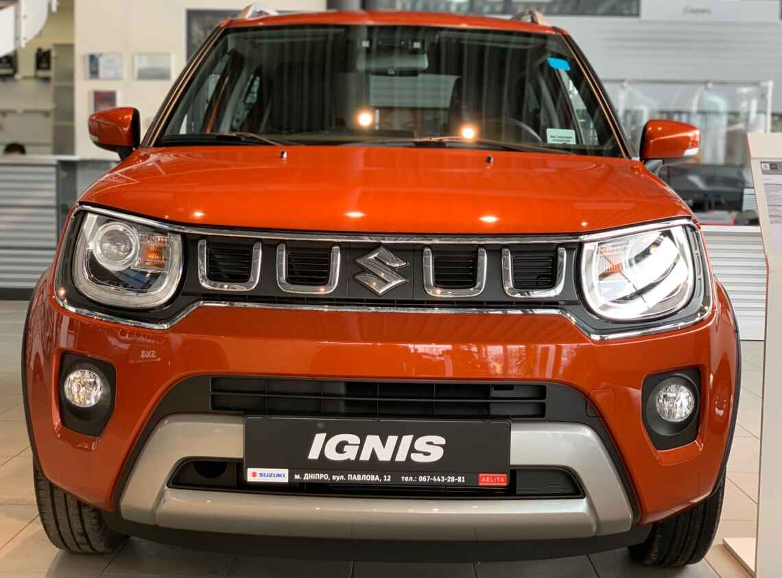 Ignis 1.2L hybrid GLX CVT
