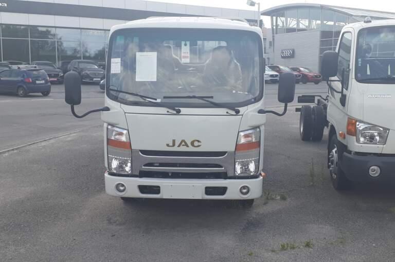 JAC N56 DOUBLE CAB (бортовий)